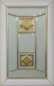 Фасад Сиареджио стекло