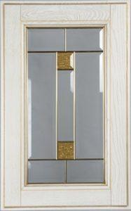 Фасад Соната Голд со стеклом