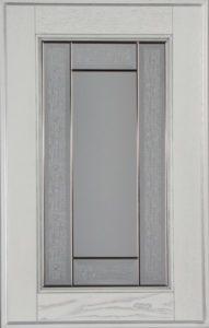 Фасад Соната Сильвер со стеклом Сорренто