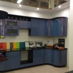 Кухня МДФ эмаль. Цвет хамелеон.