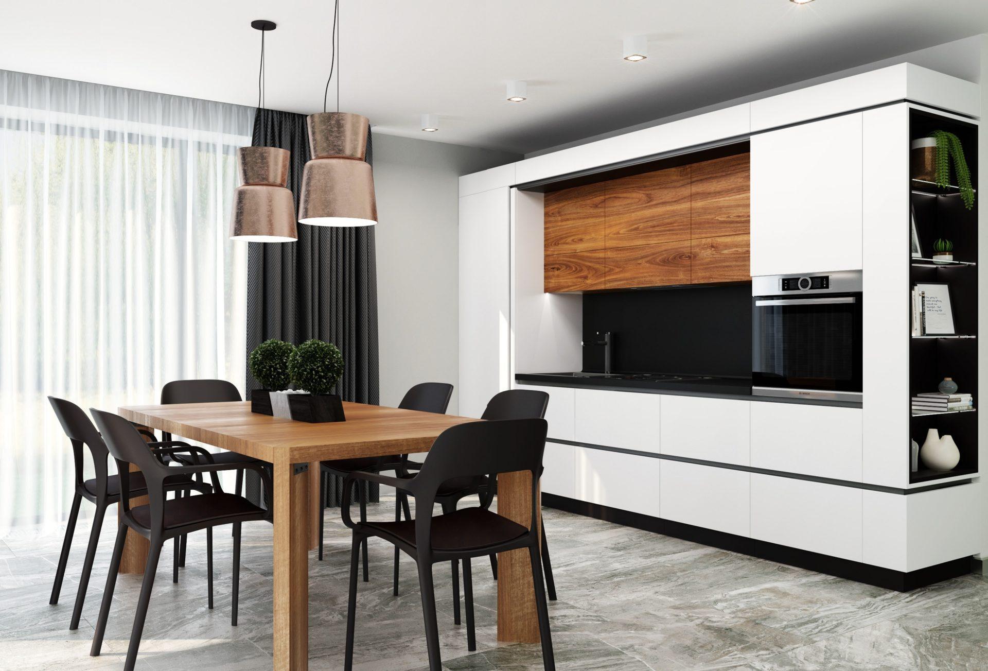 Кухня  в стиле модерн GRANDE