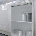 Белая глянцевая кухня MIRELLA