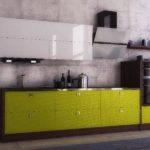 Кухня в стиле хай-тек  NORMA LUX