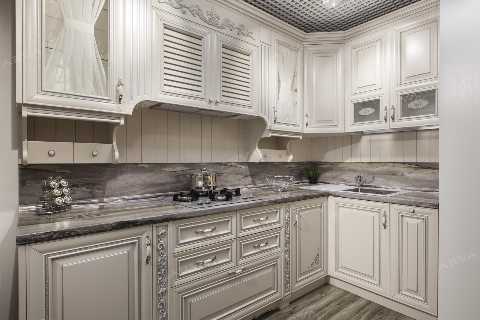 Классический кухонный гарнитур Эрмитаж