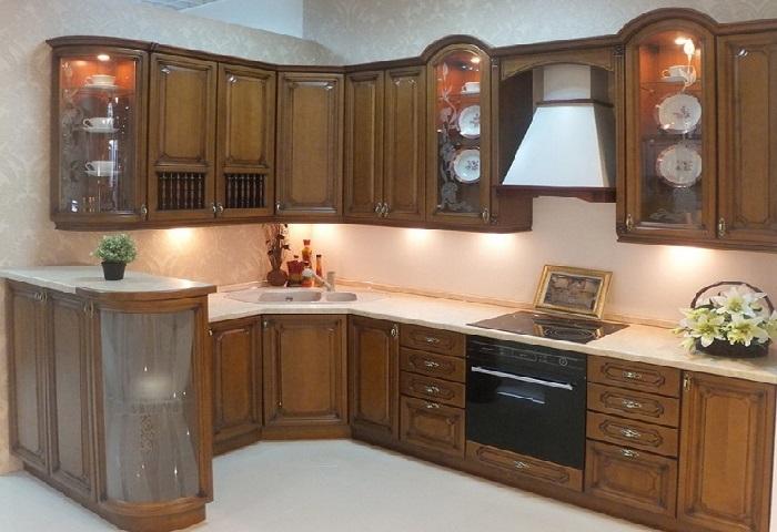 Кухня бук. Классический стиль.