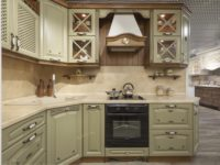 Деревянная кухня в стиле прованс прованс