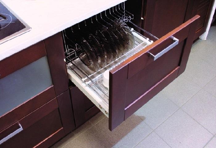 Современная прямая кухня из массива ARVA